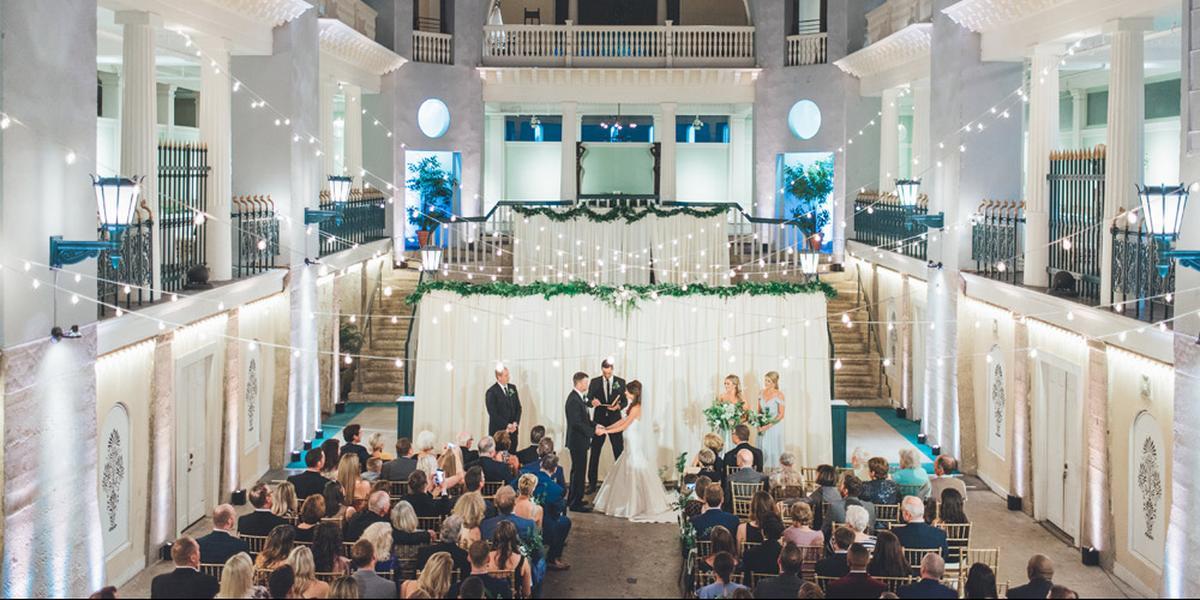 Lightner Museum wedding Jacksonville