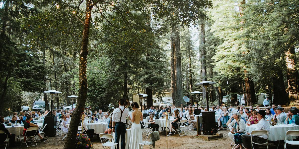 Redwoods River Resort wedding North Coast