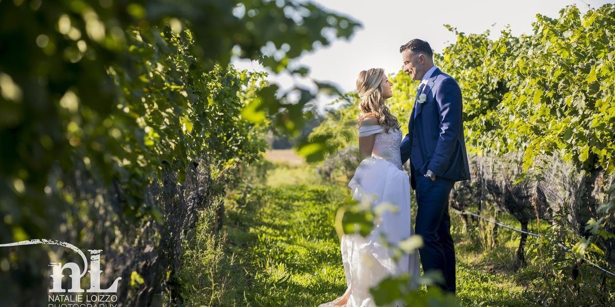 The Vineyards at Aquebogue wedding Long Island