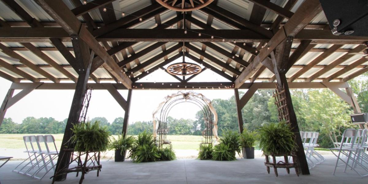 The Barn at Ross Farm wedding Atlanta