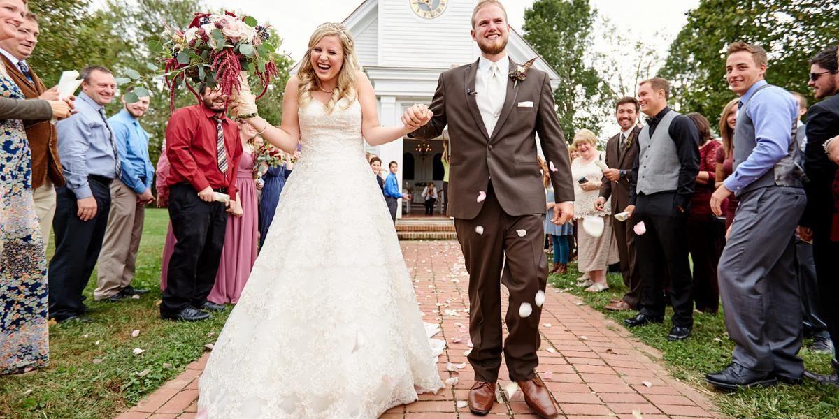 Old Peace Chapel & Enhanced Shelter wedding St. Louis