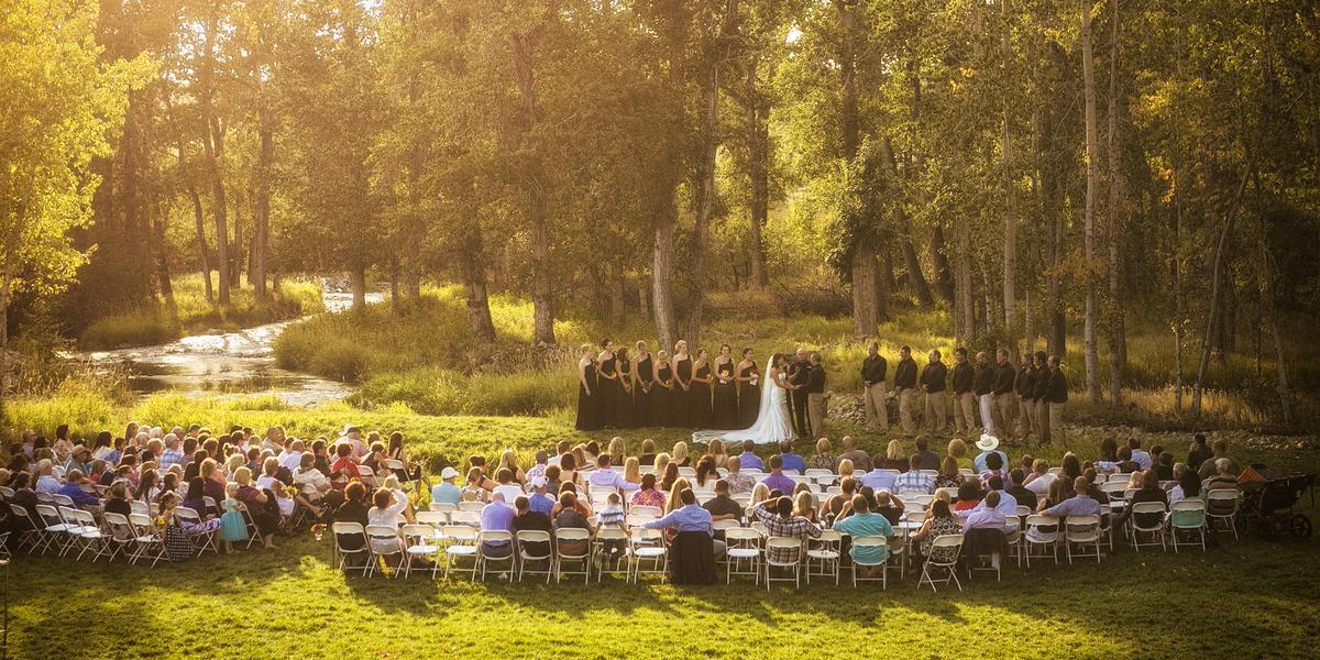 Quaking Aspen Ranch wedding Montana