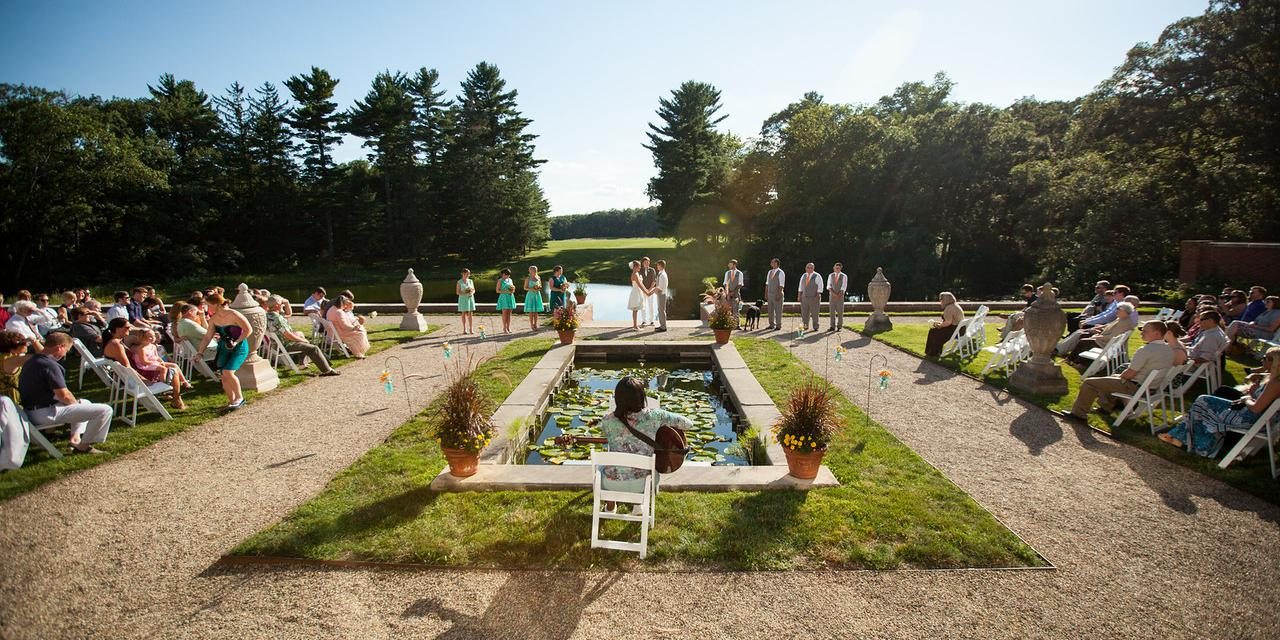 Allerton Park & Retreat Center wedding Central Illinois