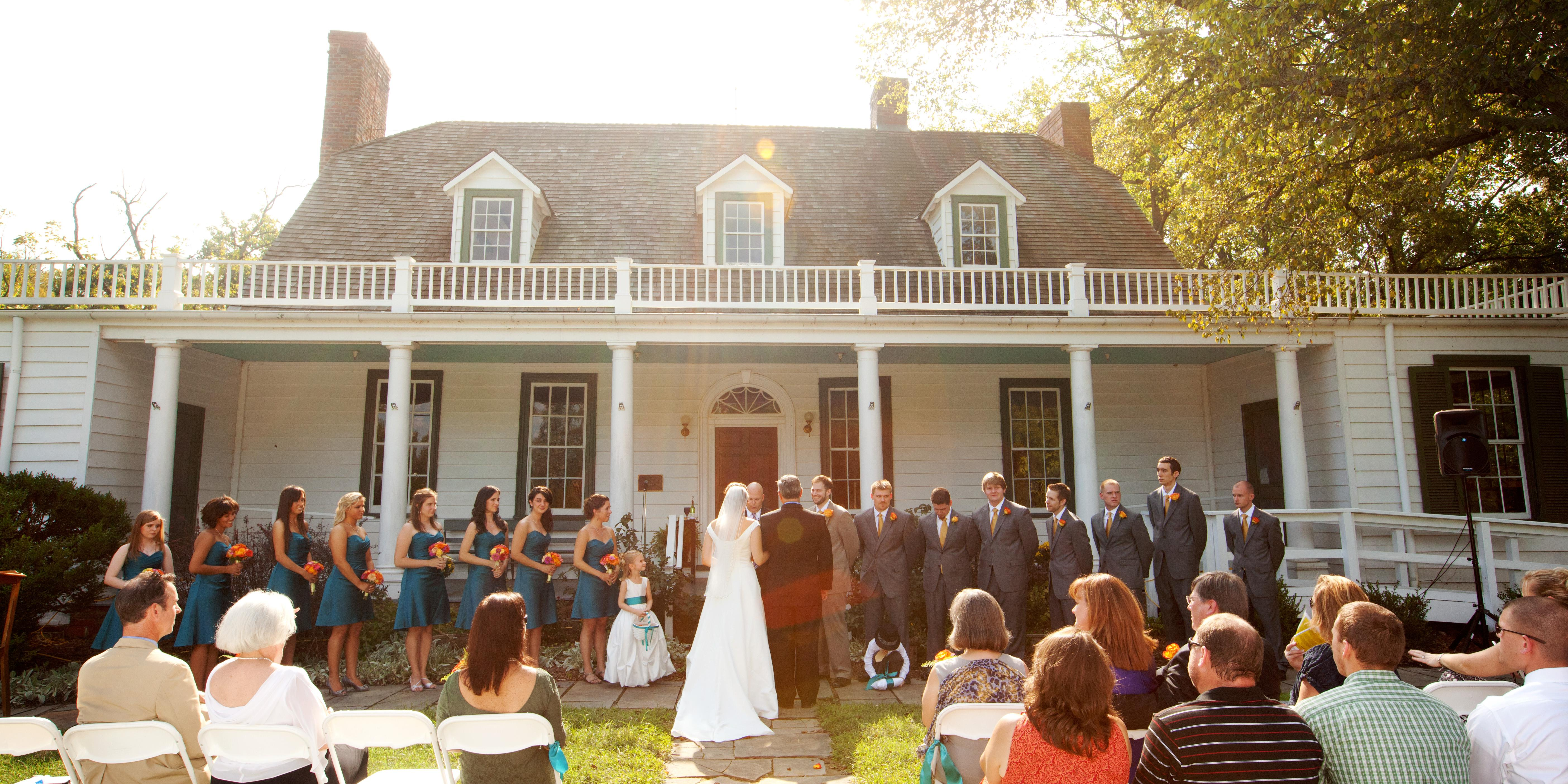 Prince William County Historic Preservation Division wedding Fredericksburg