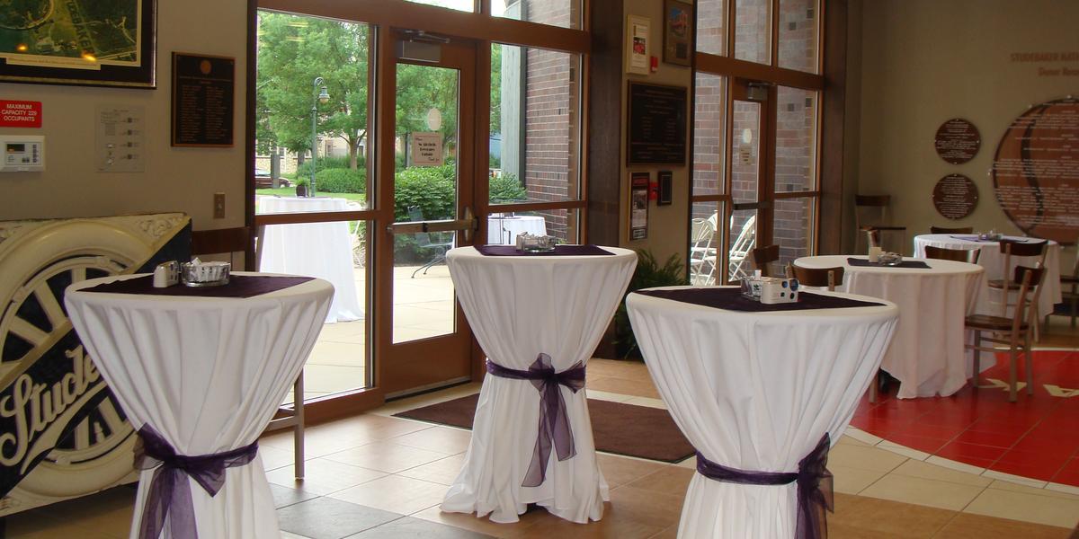 Studebaker National Museum wedding Northwest Indiana