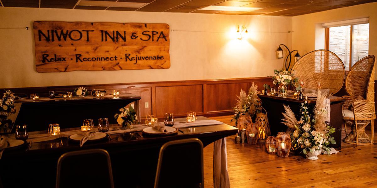 Niwot Inn & Spa wedding Denver