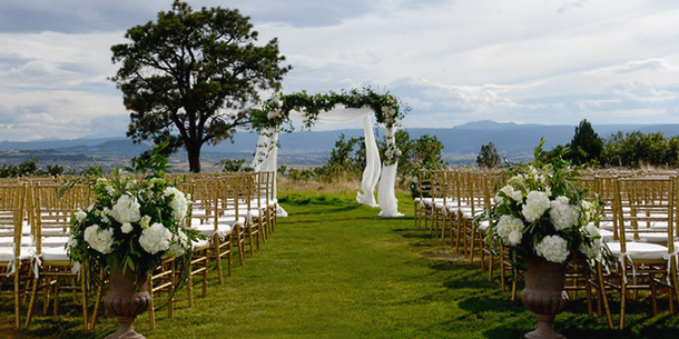 The Country Club of Castle Pines wedding Denver