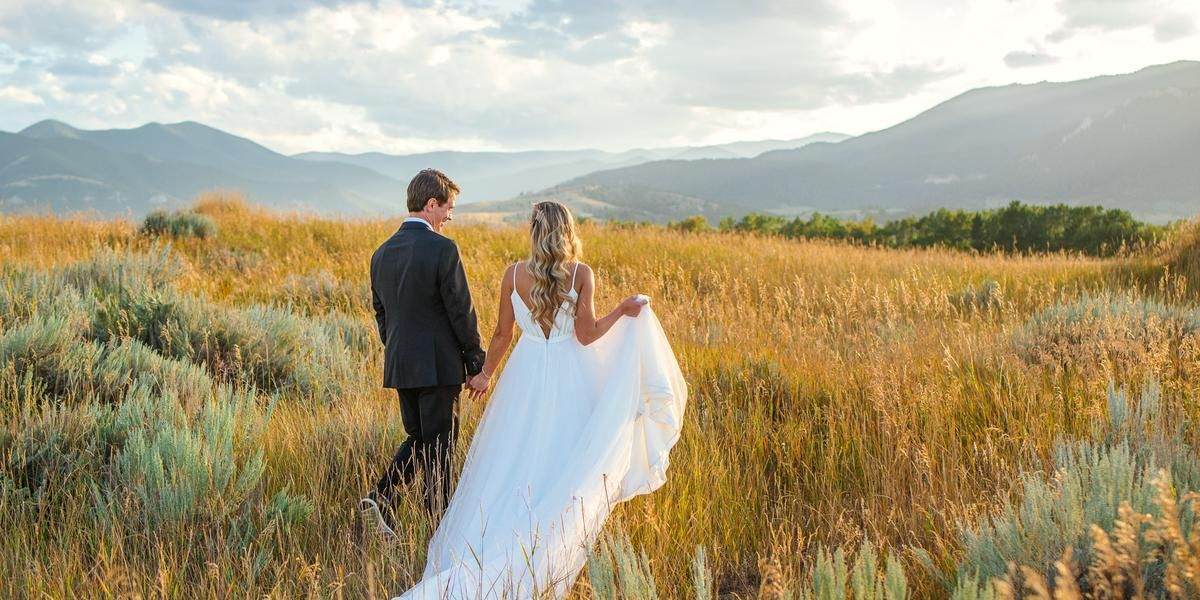 Red Lodge Mountain Golf Course wedding Montana