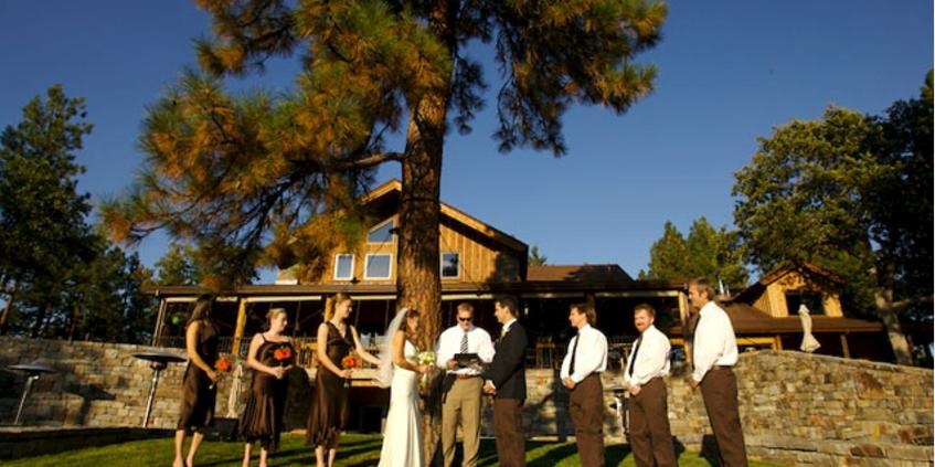 The Dalles Ranch wedding Mt. Hood