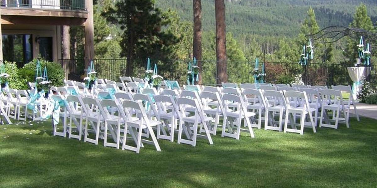 Mountain Lake Lodge wedding Montana