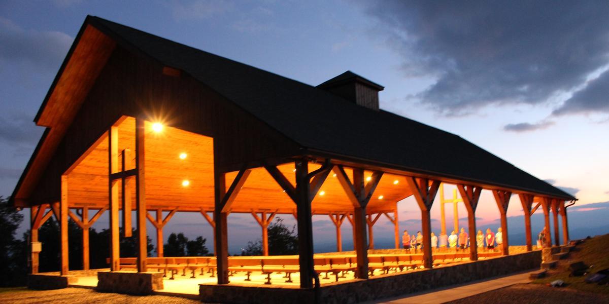 Camp Cheerio wedding Winston-Salem/Mountains