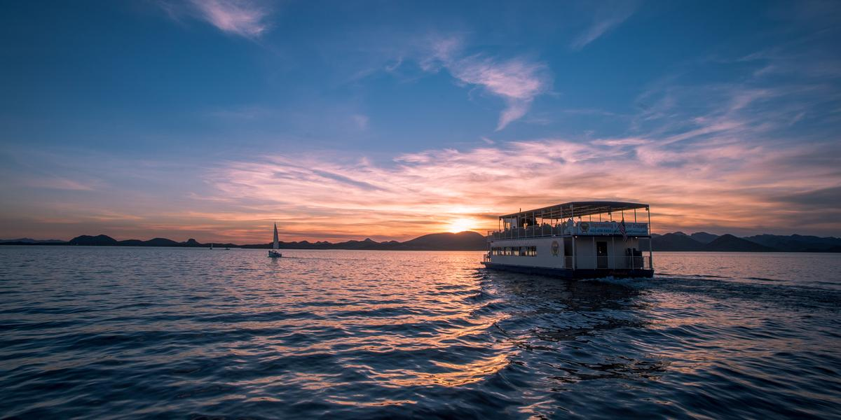 Lake Pleasant Cruises wedding Phoenix/Scottsdale