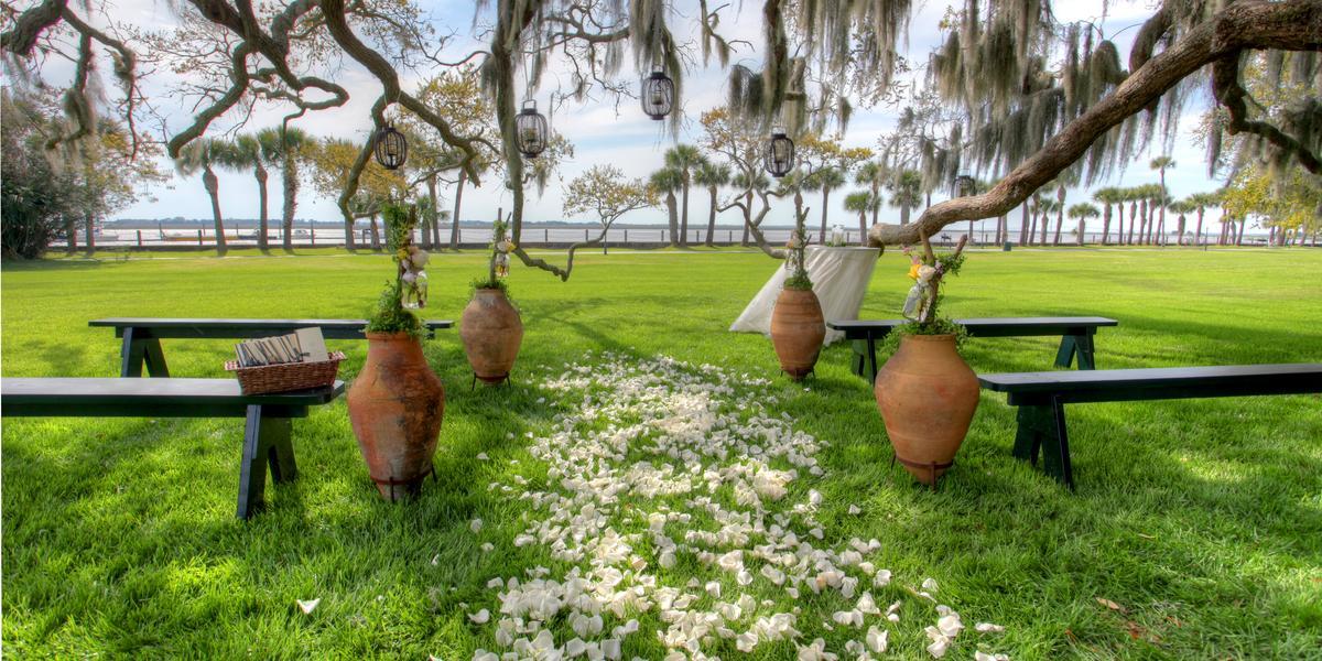 Jekyll Island Club Resort wedding Savannah