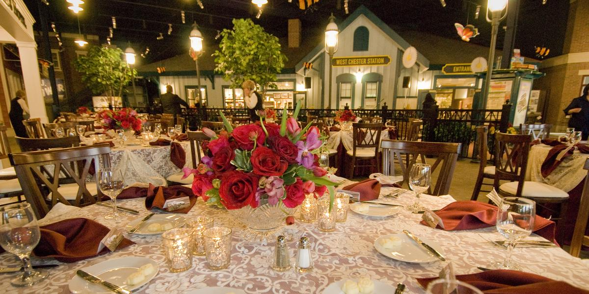 EnterTRAINment Junction wedding Cincinnati