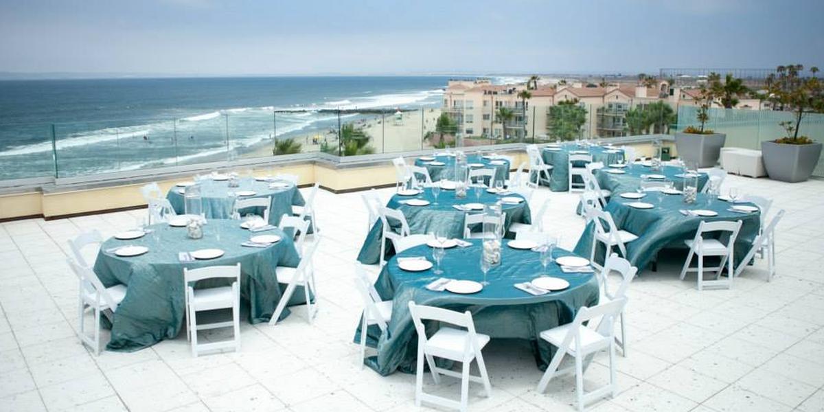 Pier South Resort wedding San Diego