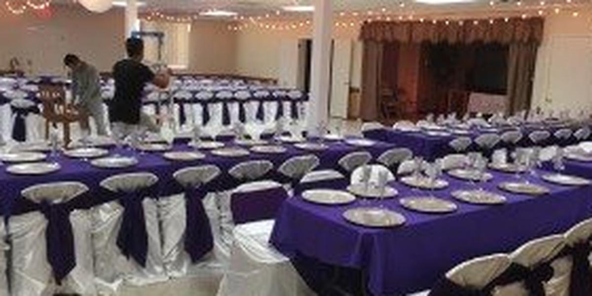 Elizabeth City Shrine Club wedding Outer Banks