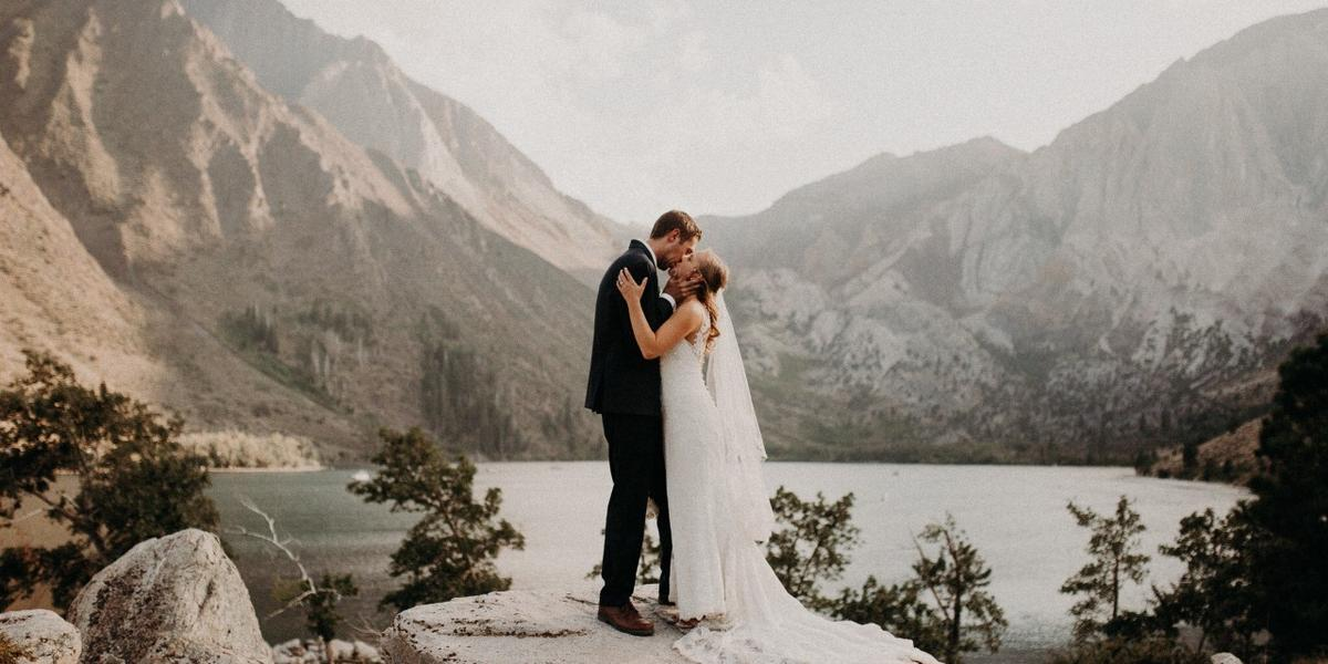 Convict Lake Resort wedding Yosemite
