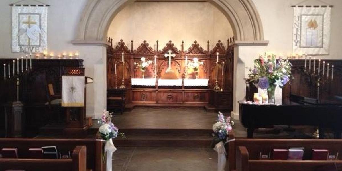 Church of The Wayfarer wedding Monterey/Carmel Valley
