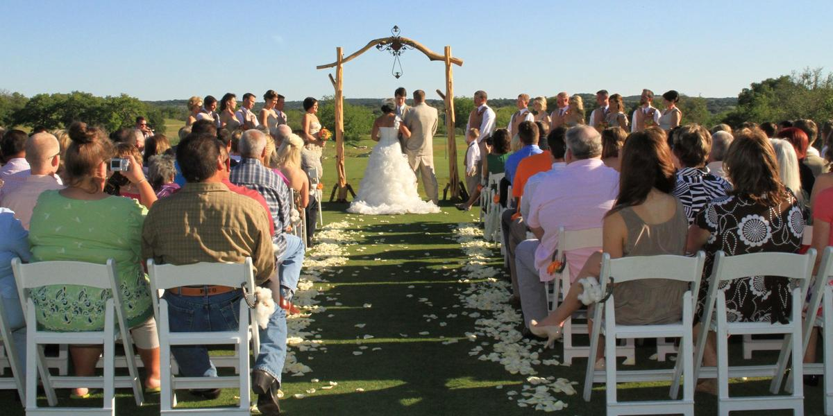 The Club at Comanche Trace wedding Hill Country