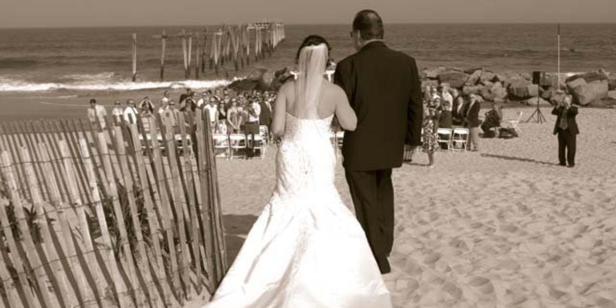 Greate Bay wedding Atlantic City