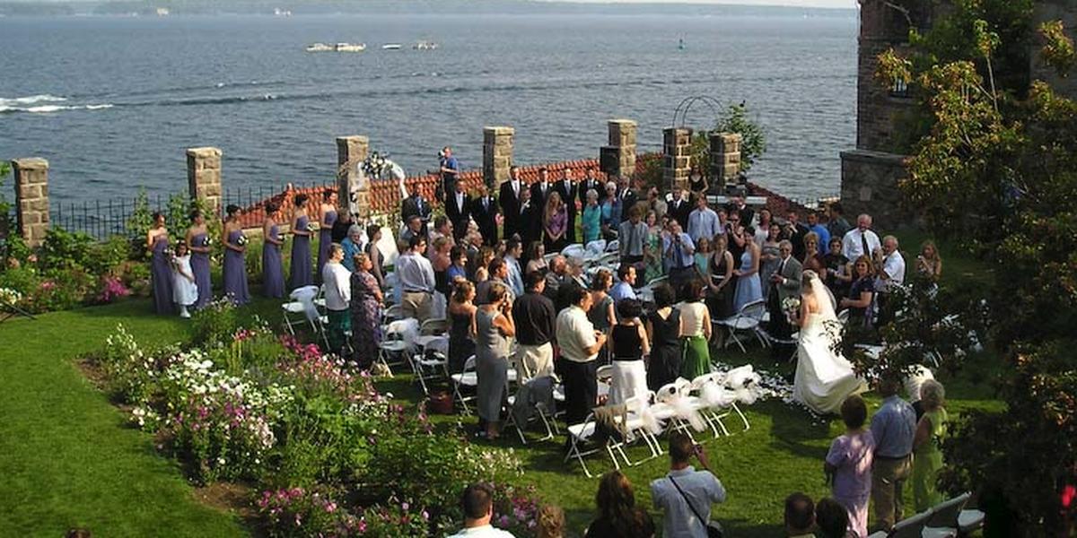 Singer Castle on Dark Island wedding Western Adirondacks/Eastern Lake Ontario