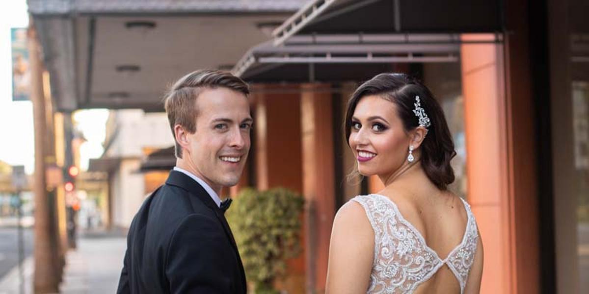 Hotel De Anza wedding South Bay
