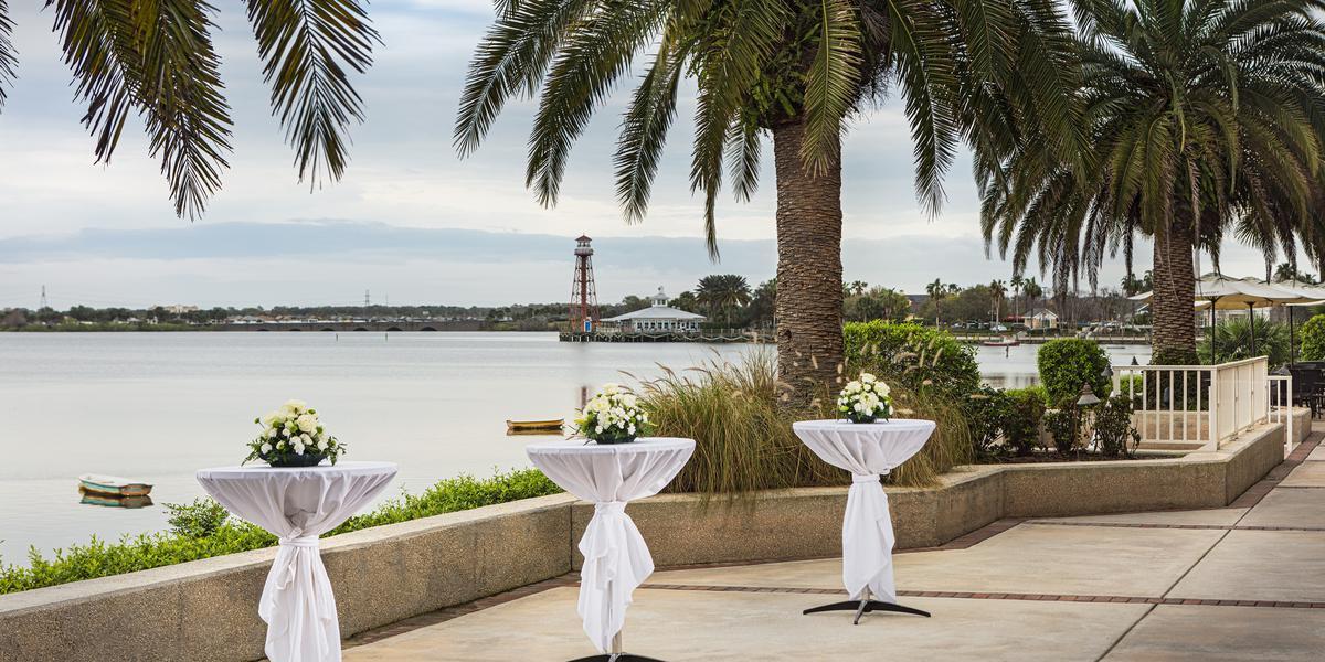 The Waterfront Inn wedding Orlando