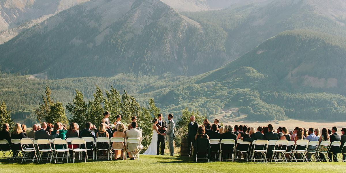 The Club at Crested Butte wedding Aspen/Vail/High Rockies