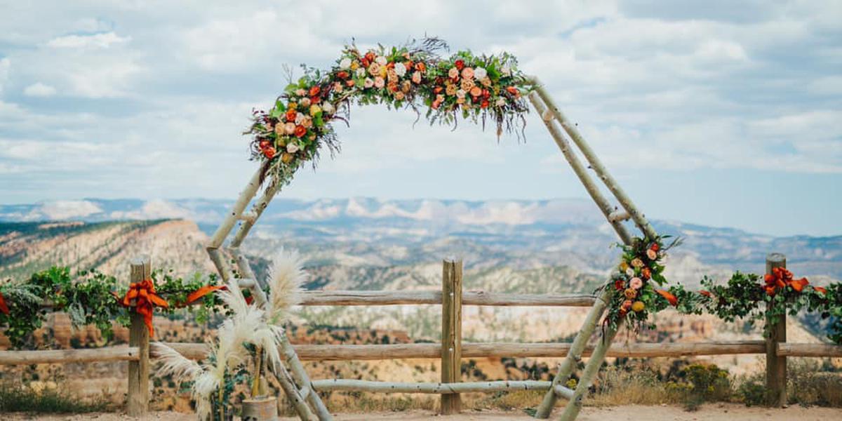 Ruby's Inn wedding South Utah