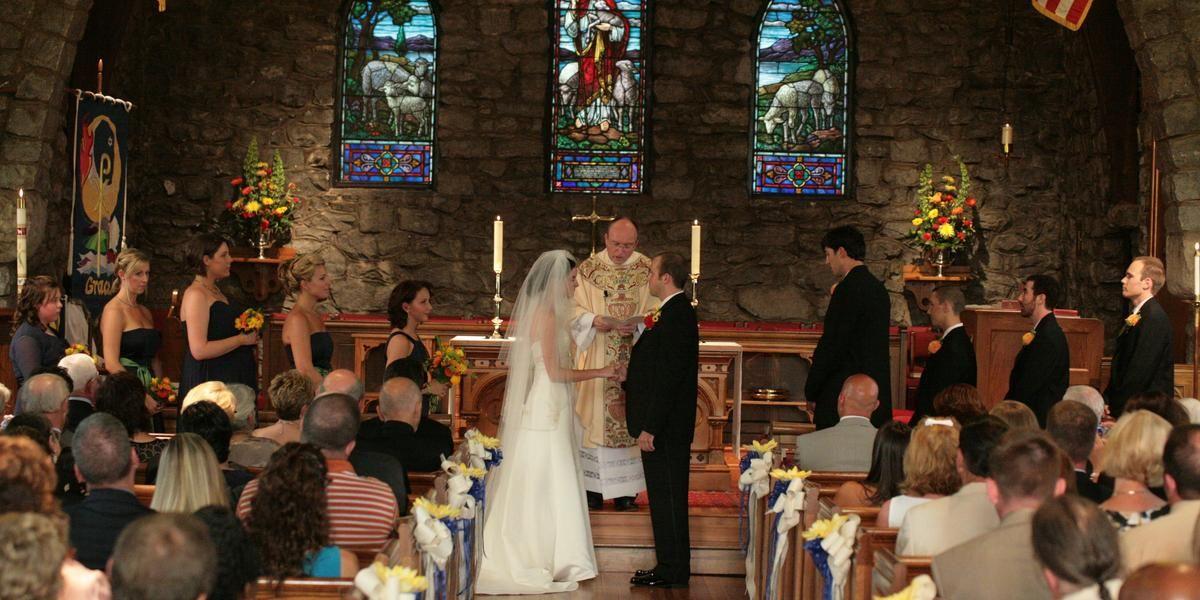 Grace Episcopal Church wedding Asheville