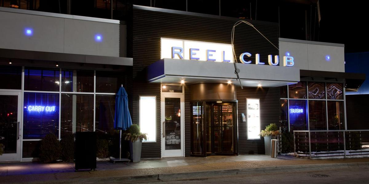Reel Club Restaurant wedding Chicago