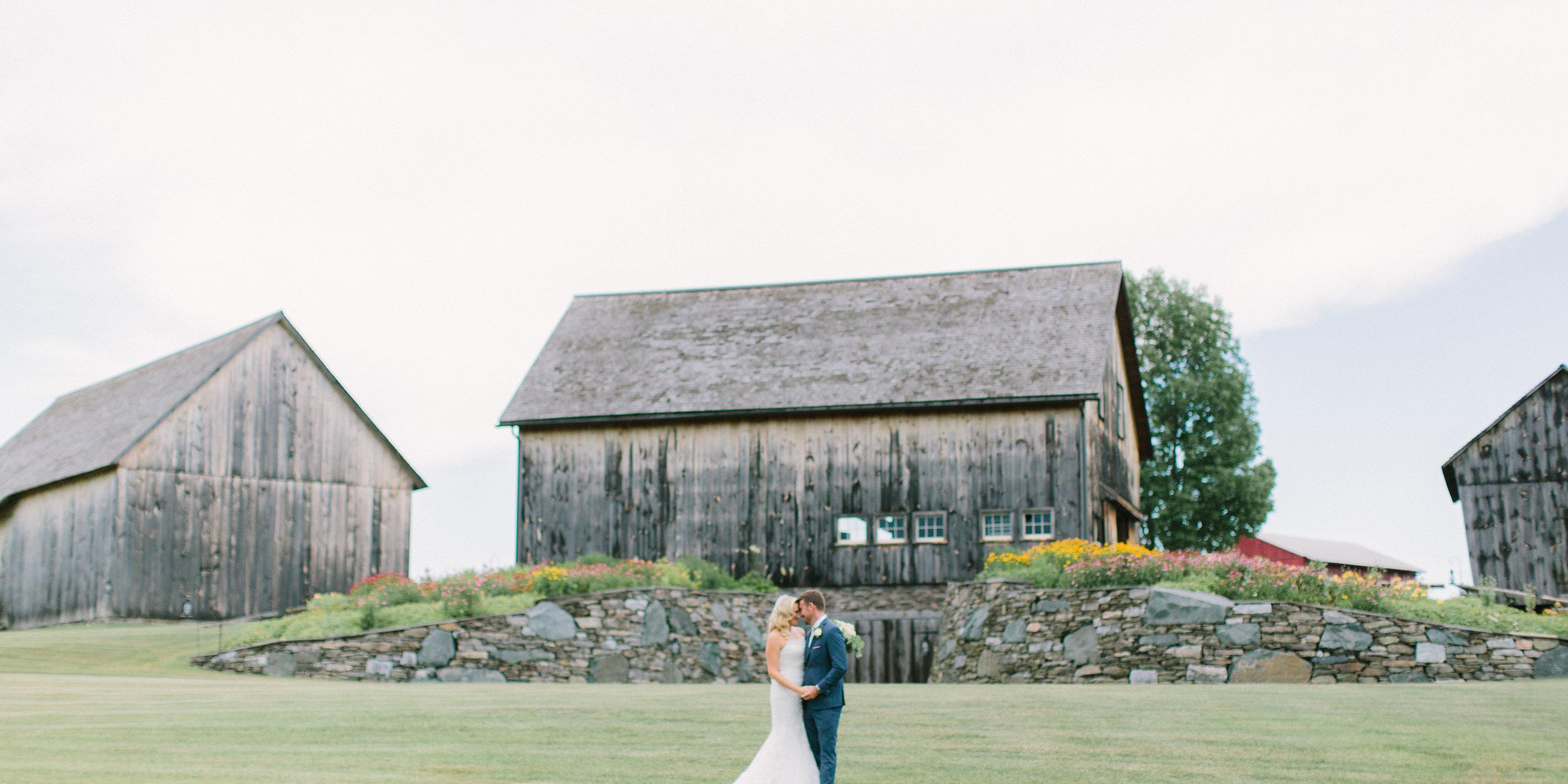 The Historic Barns of Nipmoose wedding Western New York