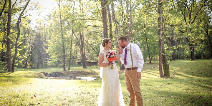 Mont Shenandoah wedding Lexington