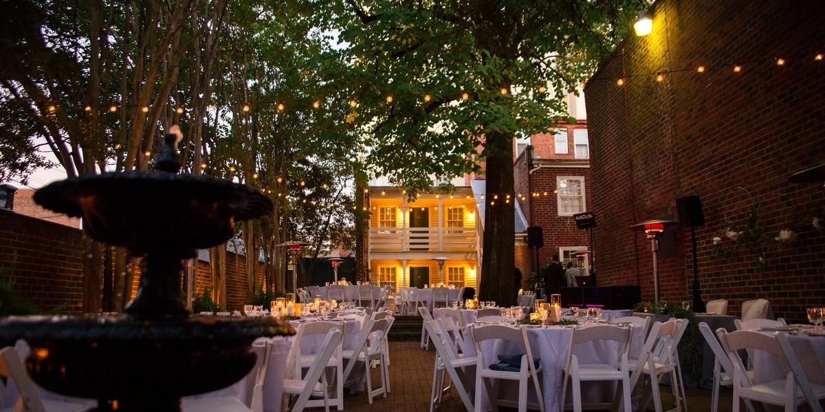 Linden Row Inn wedding Richmond