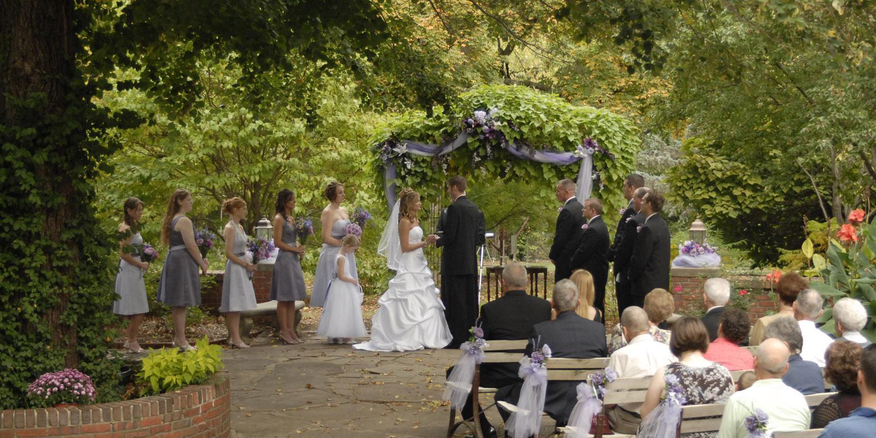 Old Prairie Town at Ward-Meade Park wedding Kansas City