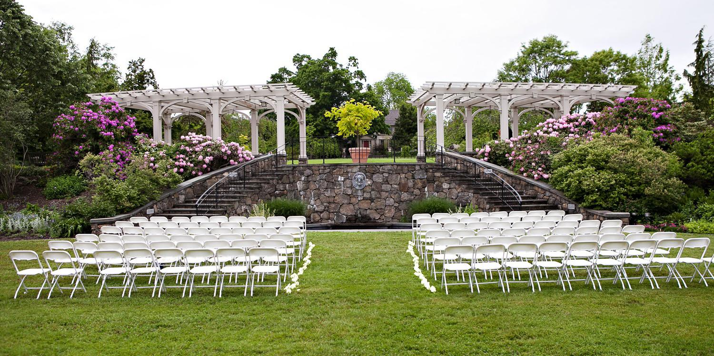 Tower Hill Botanic Garden wedding Boston