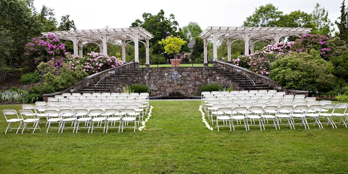Tower Hill Botanic Garden wedding Boston