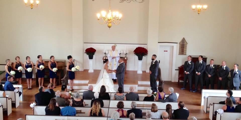 Historical Society of Wells & Ogunquit wedding Maine