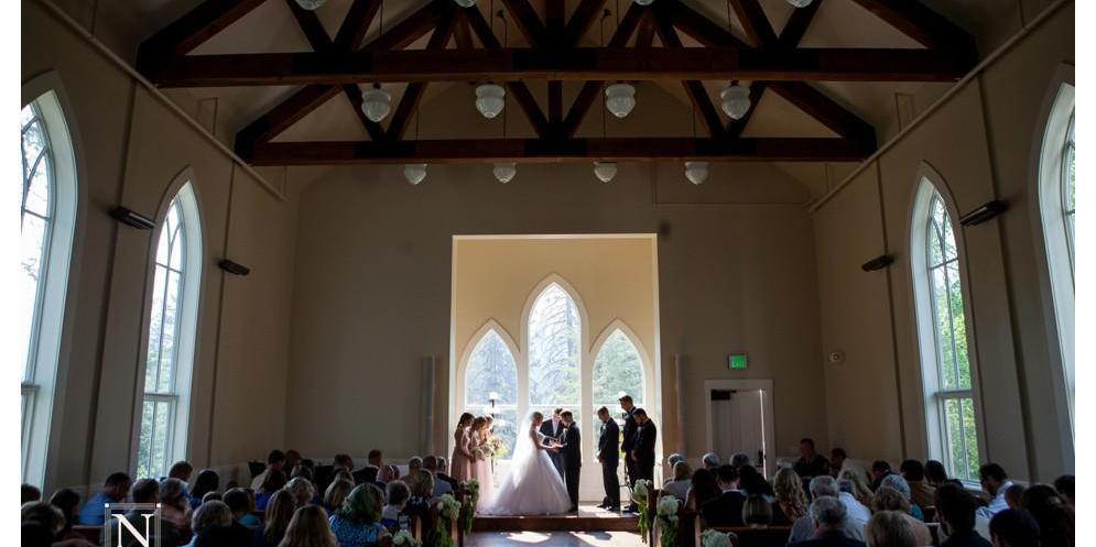 Arling Center At Tamarack Resort wedding Idaho