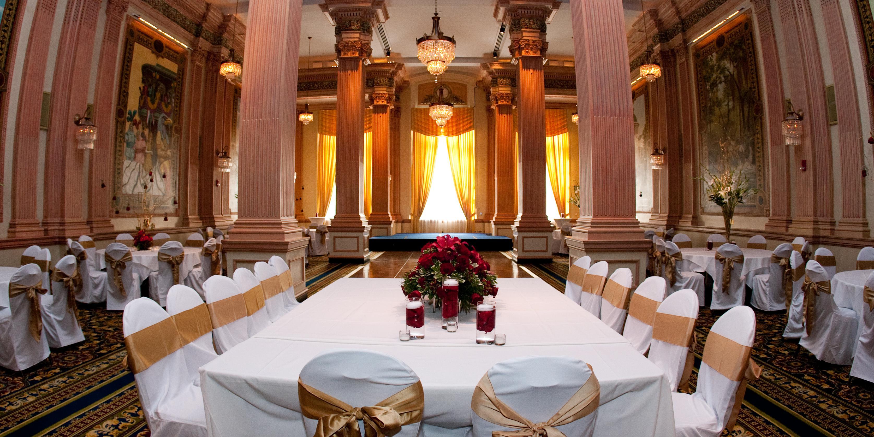 The Battle House Renaissance Hotel & Spa wedding Southern Alabama