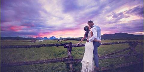 Diamond Cross Ranch wedding Wyoming