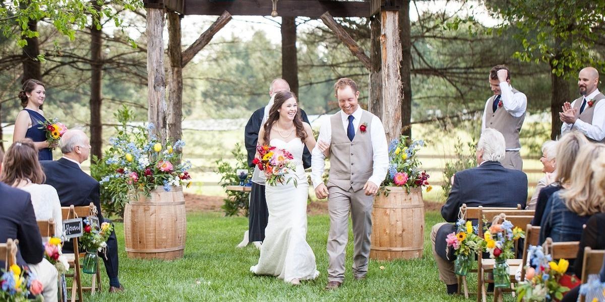DeStarte Wedding Barn wedding Charlotte