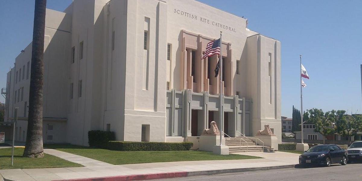 Pasadena Scottish Rite Events Center wedding Los Angeles