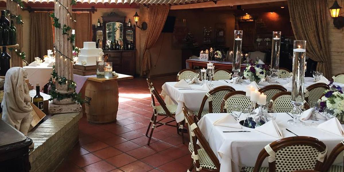 Venezia Restaurant wedding Fort Worth