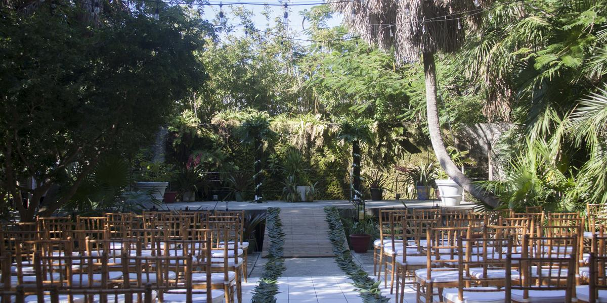 Key West Tropical Forest & Botanical Garden wedding Florida Keys