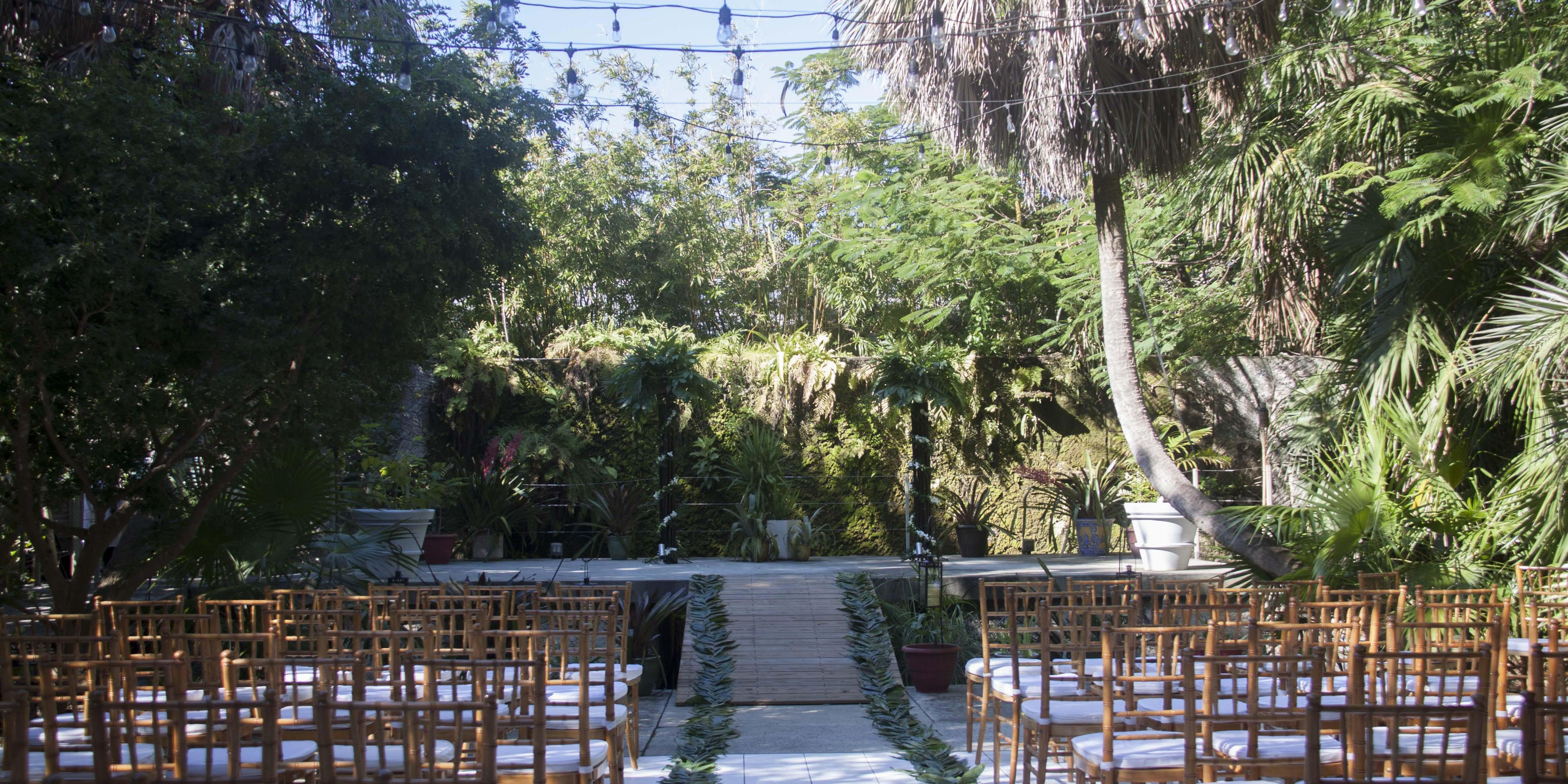 Key West Tropical Forest & Botanical Garden wedding Florida Keys