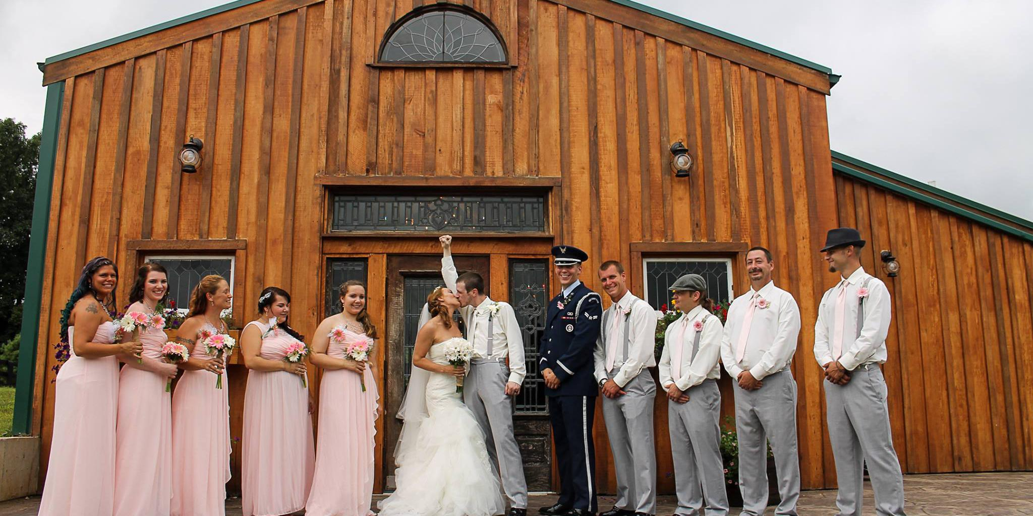 The Barn at Southern Grace wedding Louisville