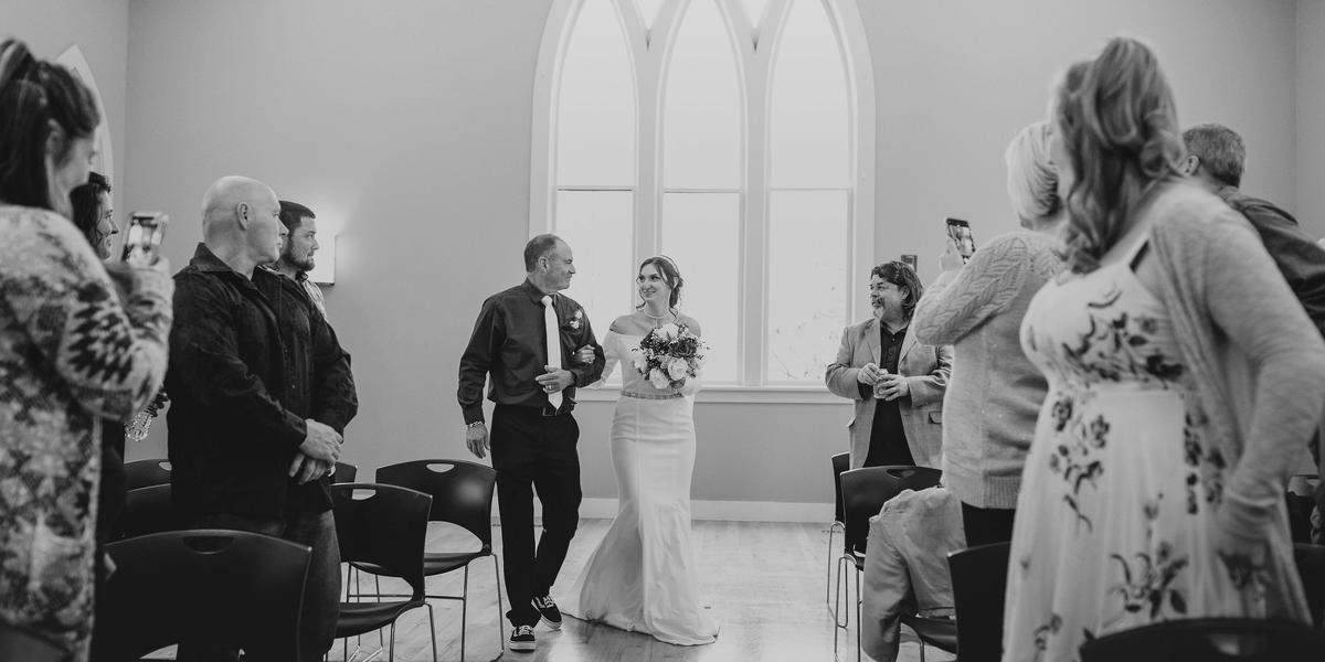 The Jacklin Arts and Cultural Center wedding Idaho