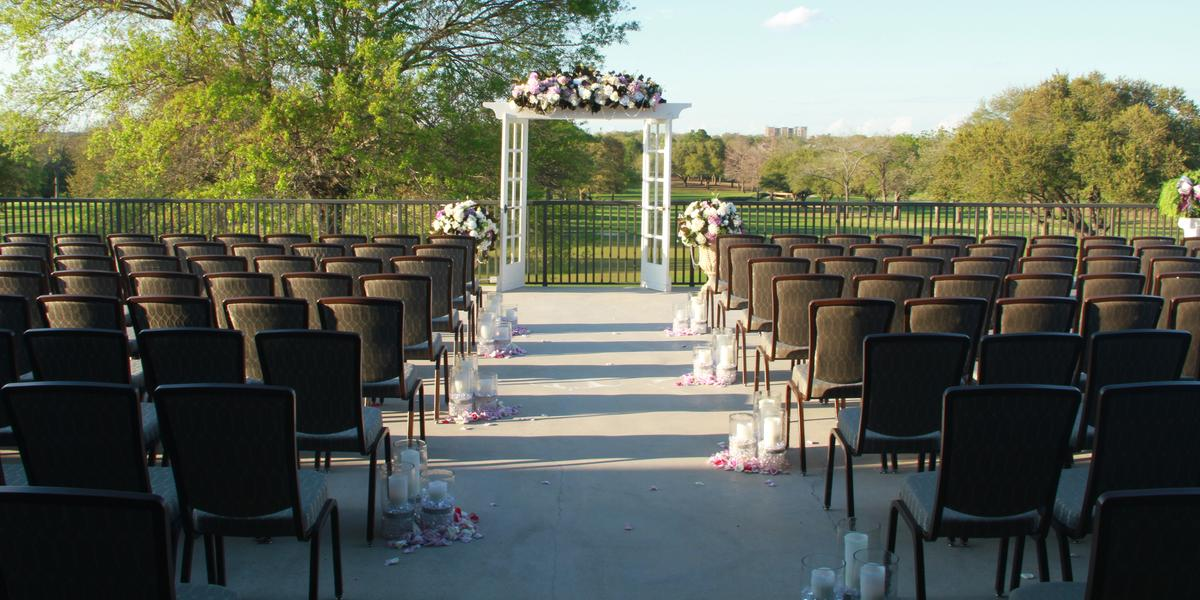 Phillips Event Center & City Course at PEC wedding Houston