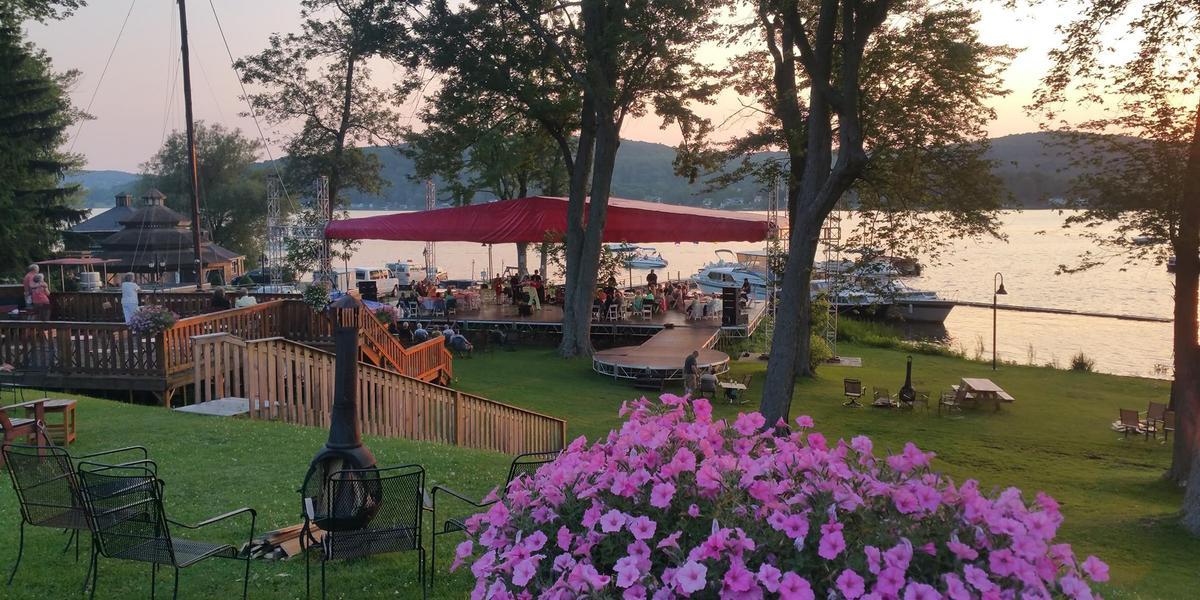 Cooperstown Lake House wedding Eastern Adirondacks/Lake Champlain